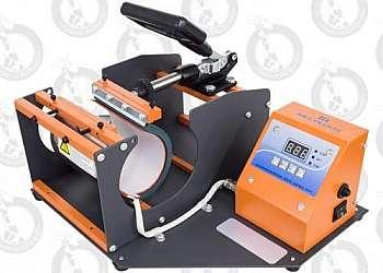 Prensa térmica digital para copos e canecas personalizadas
